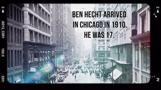 Ben Hecht tribute for Chicago Literary Hall of Fame