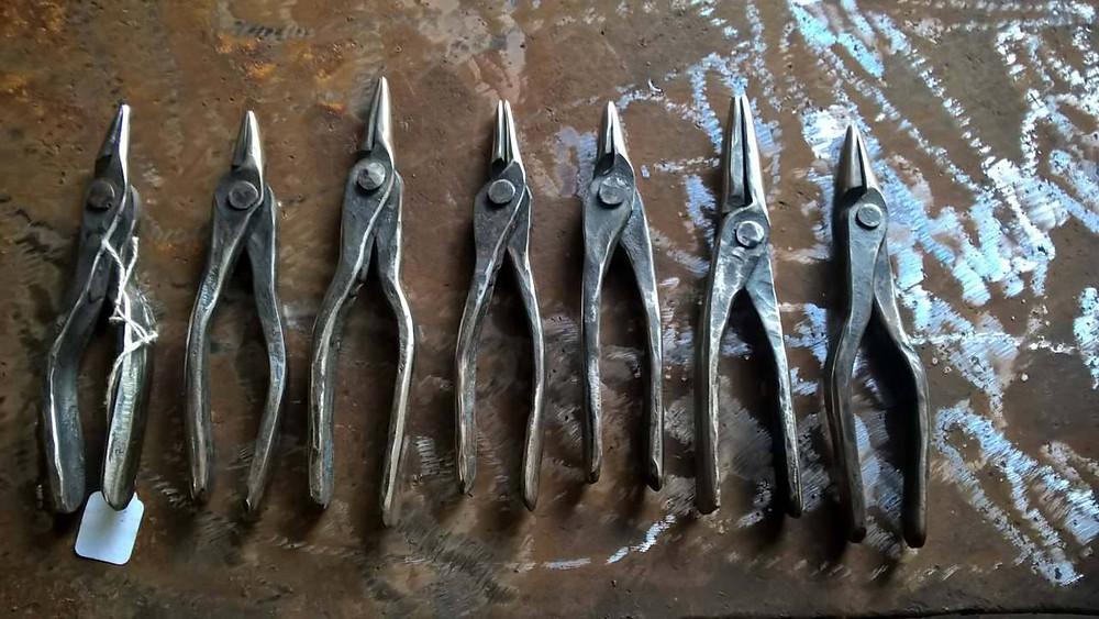 handmade fine art jewelry pliers