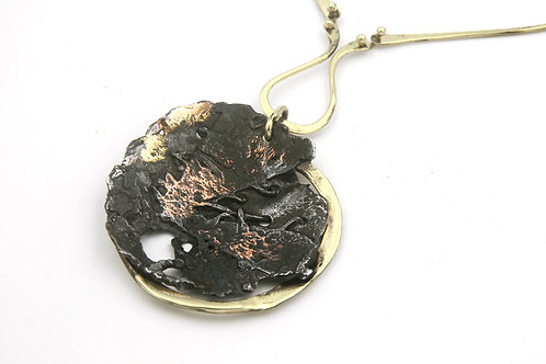 Forged Welded Necklace