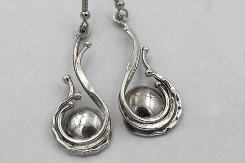 Silver Earrings #2