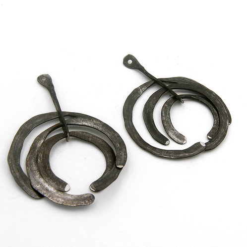 Primitive Forged Earrings