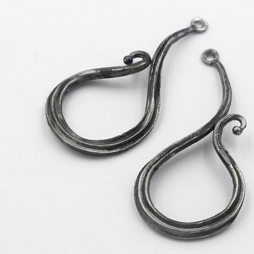 Forged Iron Earrings