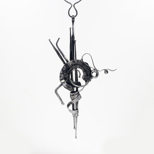 Iron Statement Necklace