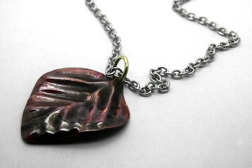 Apple Leaf Necklace