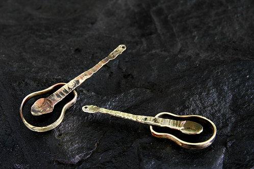 Guitar Earrings