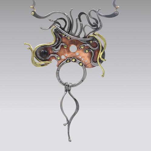 Sculptural Statement Necklace