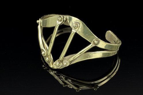 Bronze Rivet Bracelet