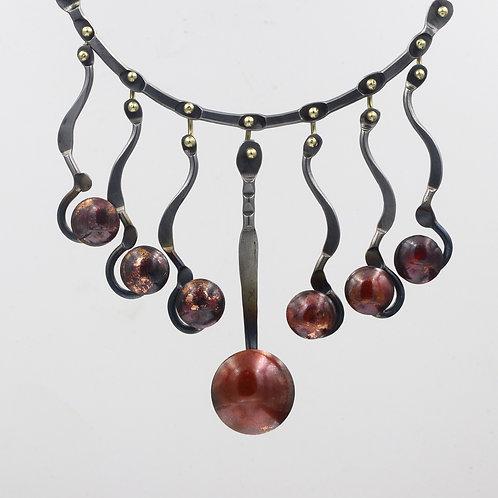 Fine Art Statement Iron Necklace