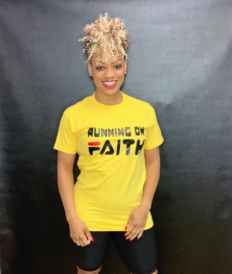 Running on Faith (Yellow)