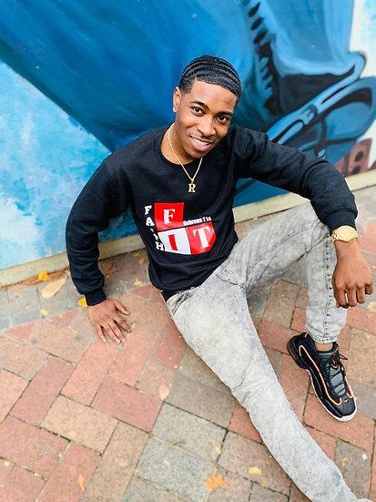 On The  Block Sweatshirt (Black)