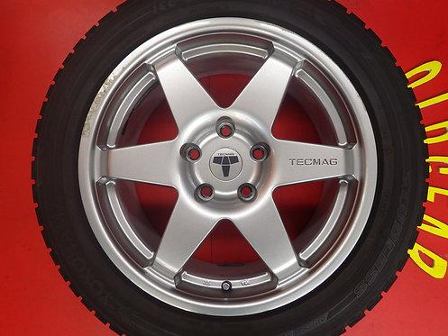 バリ山 スタッドレス 4本セット ヨコハマ IG50 TECMAG 17インチ BMW 3シリーズ F30 F31 4シリーズ F32 F33 F36