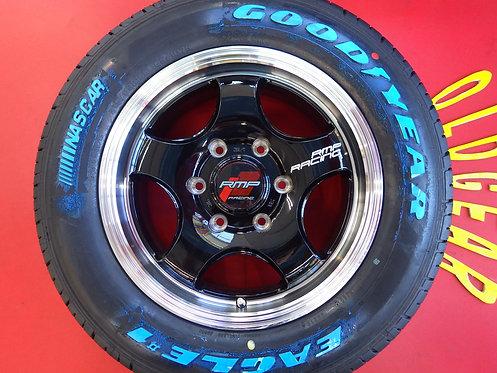 未使用 RMP レーシング R05HC 16インチ 4本セット ナスカー ホワイトレター LT 200系 ハイエース レジアス