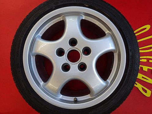 社外品 ポルシェ カップホイール 17インチ 4本セット ポテンザ RE050A Porsche 911 930 964 イタリア製