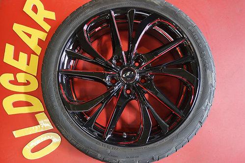 D 未使用 ウェッズ レオニス TE 18インチ ノア ボクシー エスクァイヤ ステップワゴン SAI アクセラスポーツ