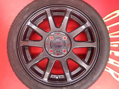 出荷が早い! 共豊 サーキュラー Version DR 15インチ 新品タイヤ ムーブ ワゴンR ライフ N-BOX N-WGN アルト タント