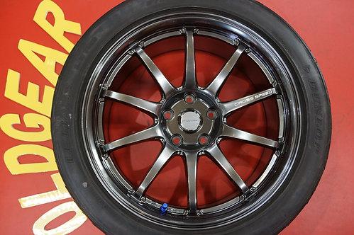 D 軽量 クロススピード CR10 18インチ フェアレディZ スカイライン シルビア クラウン マークX