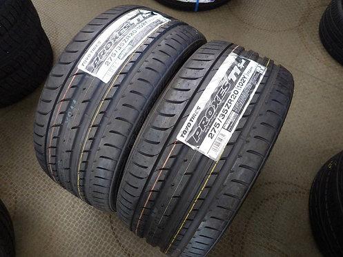 未使用 トーヨー プロクセス TOYO PROXES T1 SPORTS 2本セット ベンツ Sクラス AMG S63 BMW 7シリーズ F01 レクサス