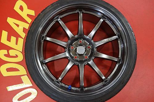 D 軽量 クロススピード CR10 18インチ プリウス 86 BRZ インプレッサ レガシィ
