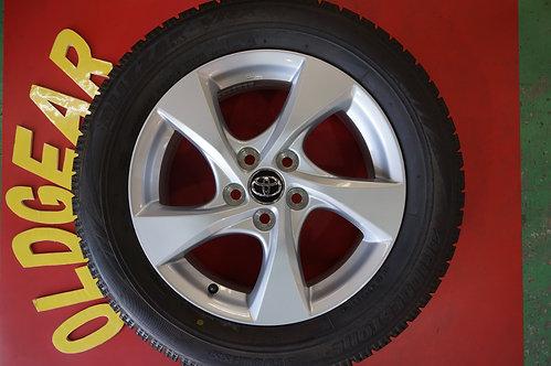D 送料無料 トヨタ CH-R 純正 17 5H114.3 6.5J+45 スタッドレス 215/60R17 タイヤサイズ変更で RAV4 アルファード エステ
