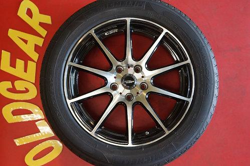 D 良品 クロススピード プレミアムR 17インチ デリカD5 レクサス HS セリカ ランエボ クラウン