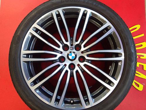 美品 BMW 5シリーズ G30 G31 Mスポーツ 純正 ダブルスポーク 664M 19インチ イーグル F1 245/40R19 275/35R19 承認