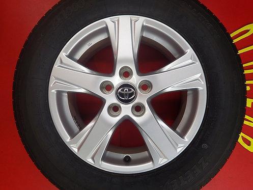 即納可能 美品 トヨタ 30系 アルファード ヴェルファイア 純正 16インチ 4本セット 新品タイヤ 車検用 純正戻し