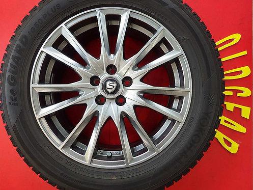 レアマイスター ストレンジャー 17インチ 4本セット スタッドレス ヨコハマ IG50+ インプレッサ XV フォレスター