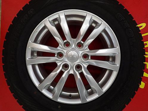 三菱 パジェロ スーパーエクシード 純正 18インチ 4本セット V97W V87W V88W V98W