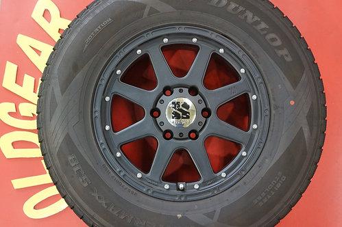 D 即納 美品 EXTREME-J 17インチ FJクルーザー タイヤサイズ変更で ハイラックスサーフ ランドクルーザープラド
