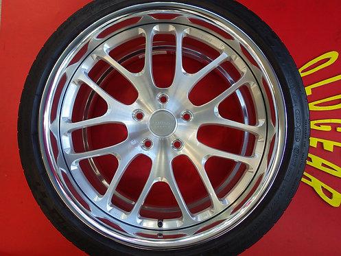 未使用 鍛造 フライハイト セブン Freiheit 7 TAN-EI-SYA 19インチ 4本セット BMW 3シリーズ F30 F31