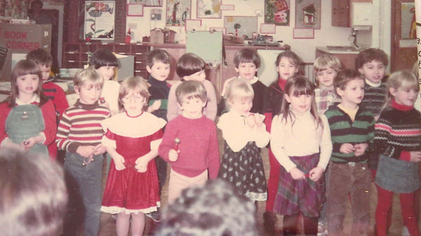 Hill Institute Kindergarten Class of 198