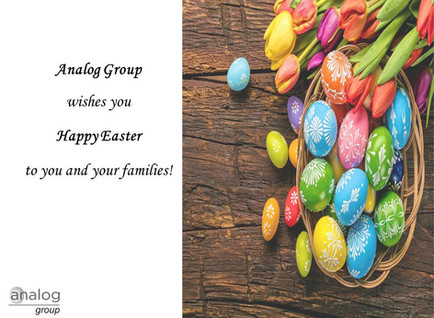 Analog Group wishes you Happy Easter