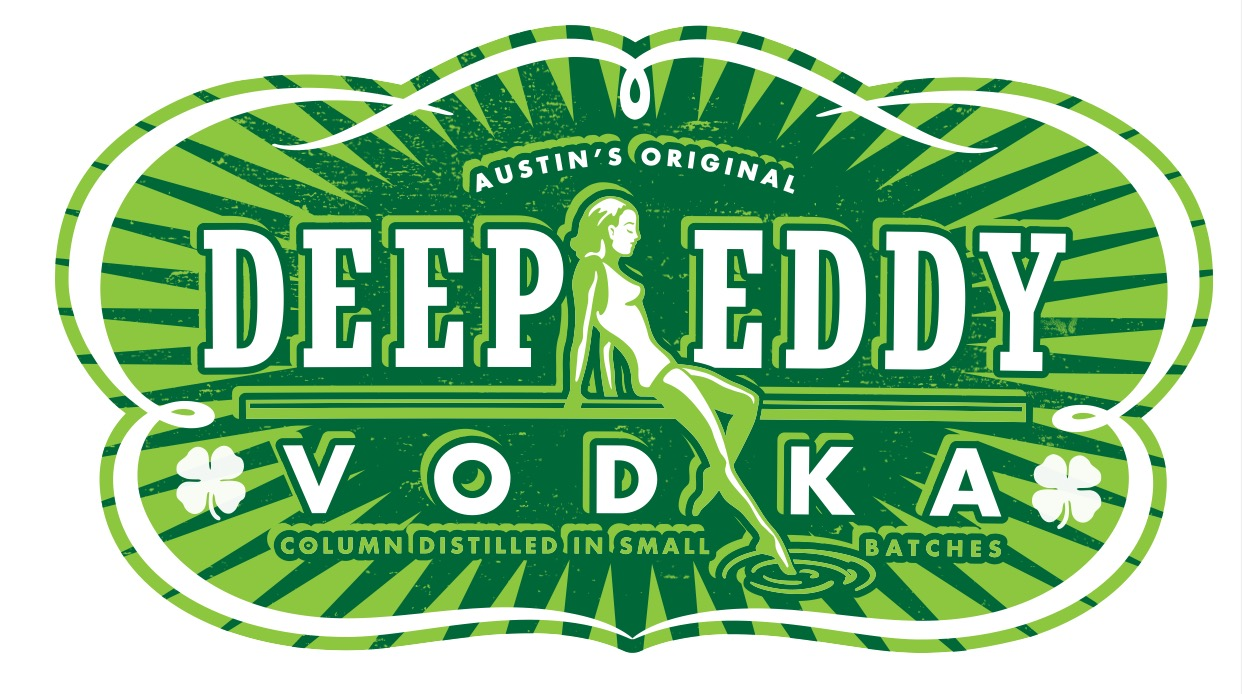 Deep Eddy Vodka St. Patricks Day Sticker
