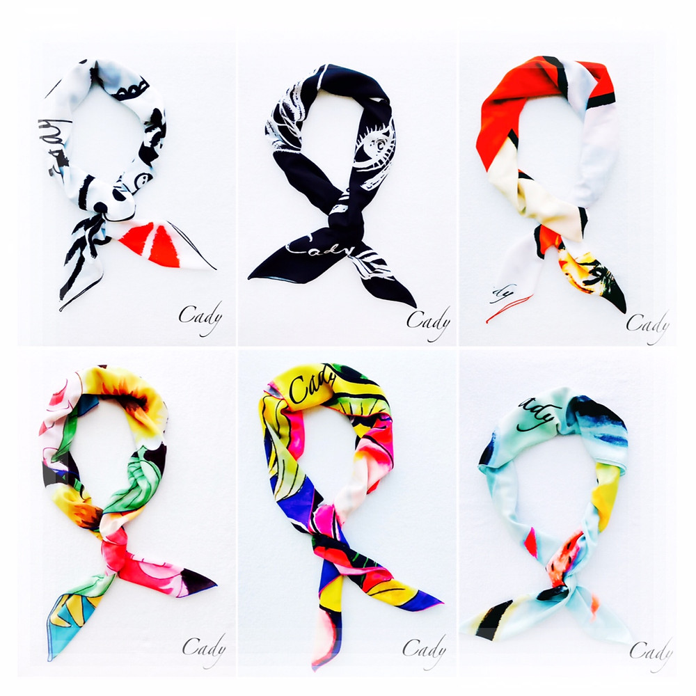Designed scarf by Cady