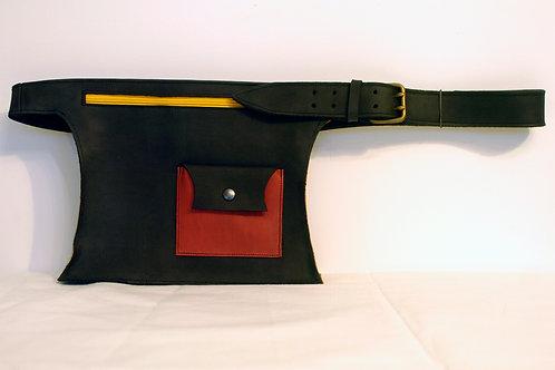 Faja noir/rouge/jaune