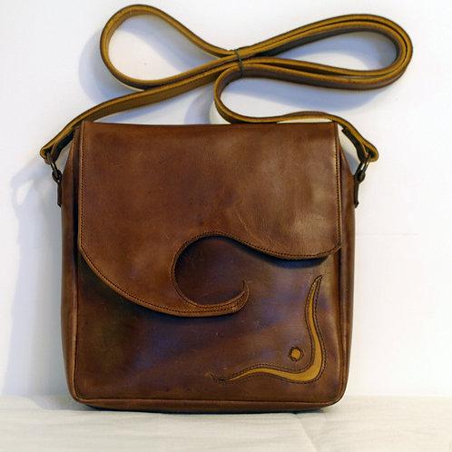 Grec marron - motif ligne