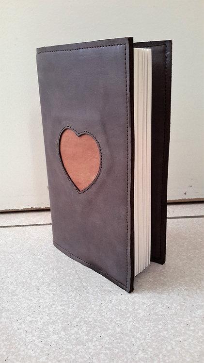 Protèges livres motif coeur