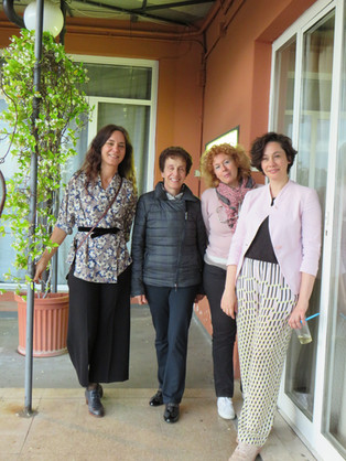 Rossana, Elena, Fulvia e Silvia