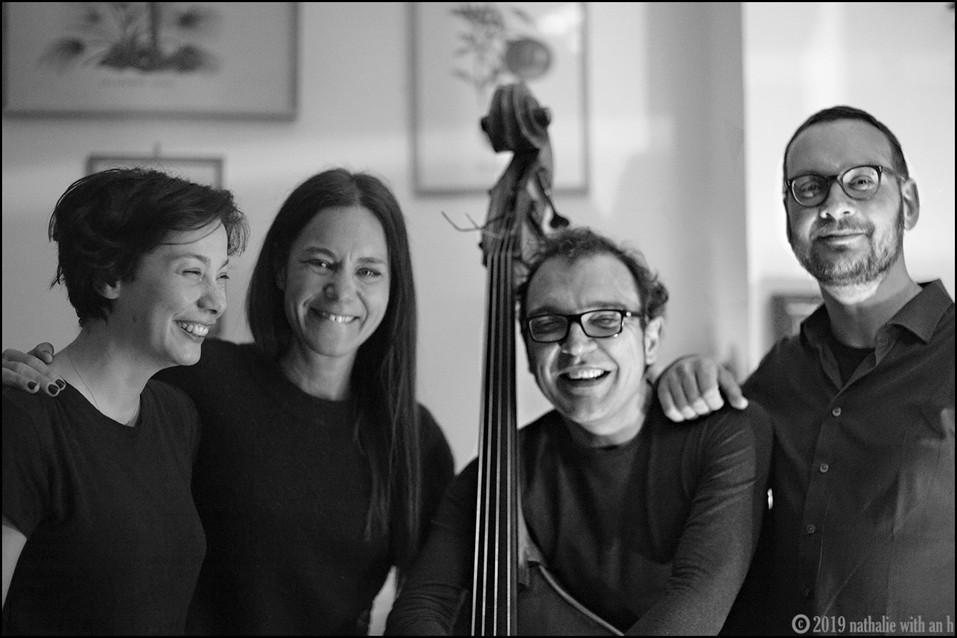 Silvia, Fulvia, Daniele e Piergiorgio