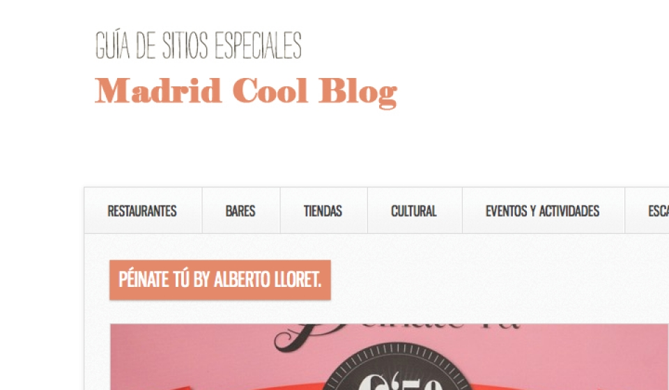Madrid Cool Blog