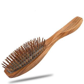 Cepillo Especial madera  de Sandalo metodo lavado Péinate Tú