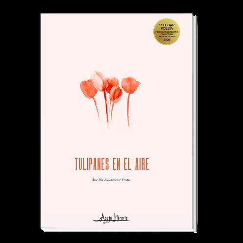 Tulipanes en el aire