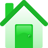 House icon - green colours