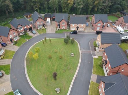 Aerial Photography Housing Development