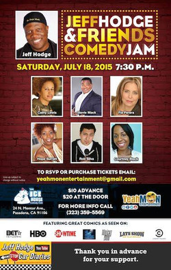I'm at the Ice House Sat. July 18