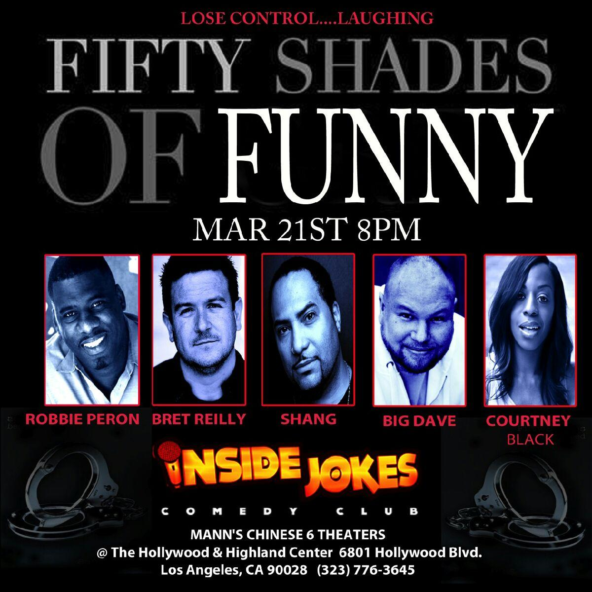 50 Shades of Funny show