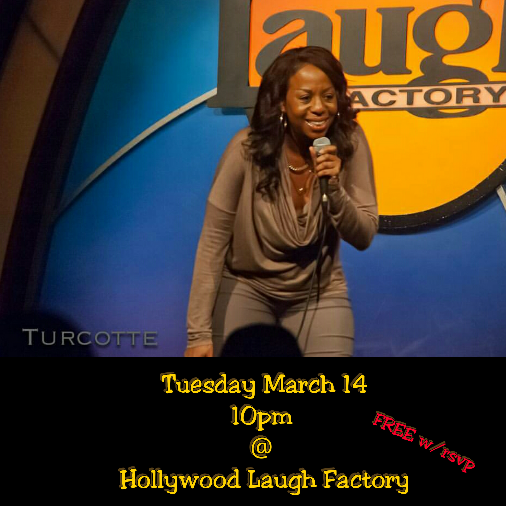 Laugh Factory #FunnyChickFlow