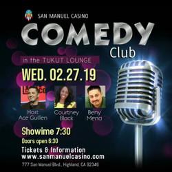 San Manuel Casino Feb. 22, 2019