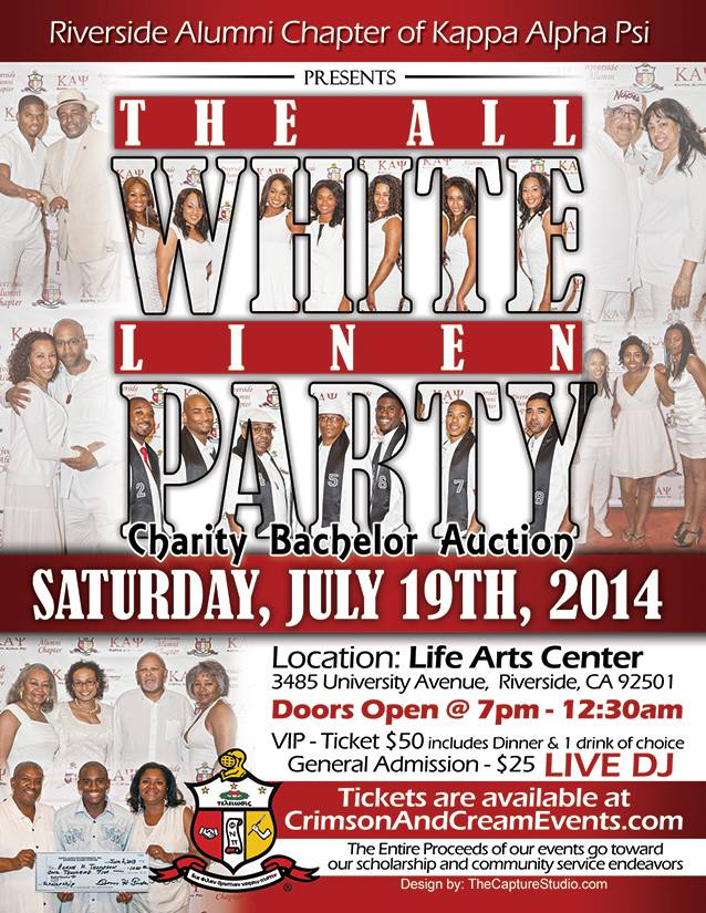 Host of KAP All White Charity event