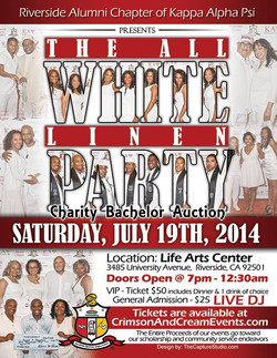 Host of KAP All White Charity event